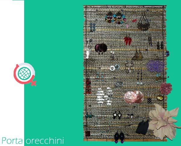 Porta orecchini fai da te female world il blog delle donne - Porta gioielli fai da te ...