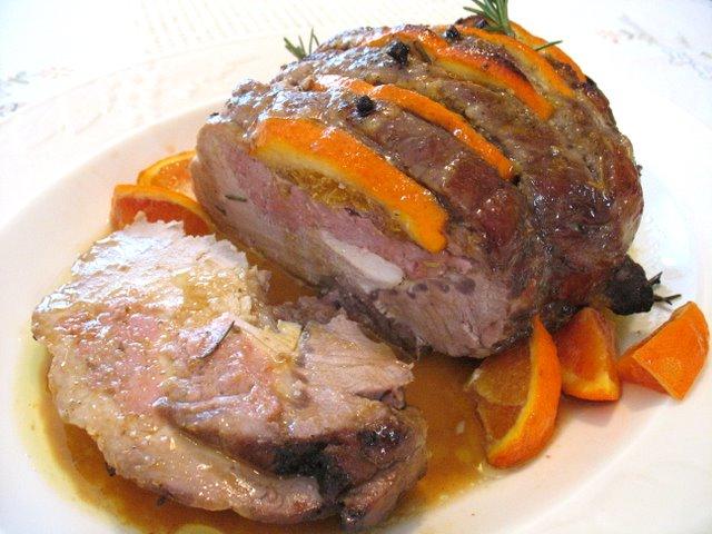 Secondi piatti di natale arrosto di maiale alle arance e for Secondo di natale
