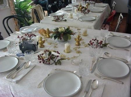 Tavola di natale 1 female world il blog delle donne - Preparazione tavola di natale ...