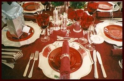 Tavola di natale 2 female world il blog delle donne - Preparazione tavola di natale ...