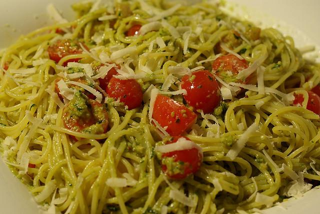 Pasta fredda alla trapanese female world il blog delle for Cucina veloce e semplice