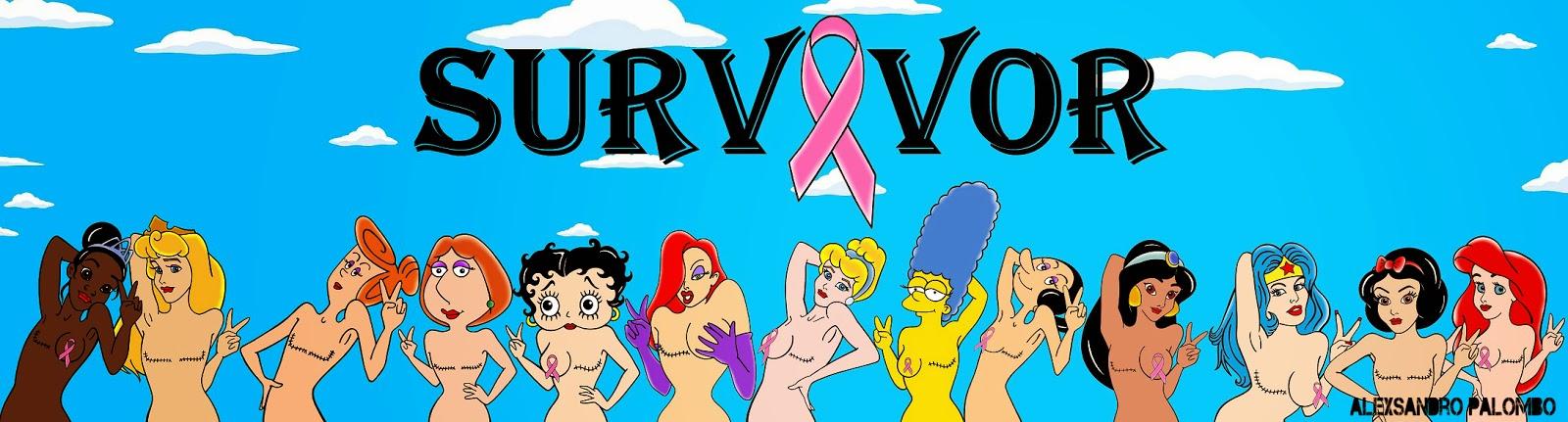 'Sopravvissute al cancro al seno', la campagna con le protagoniste dei cartoni