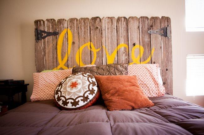 Testiera del letto idee facili ed originali per il fai da - Testiera letto originale ...