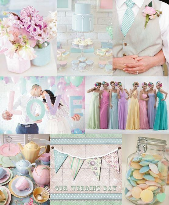 Matrimonio a tema: i colori di tendenza del 2015
