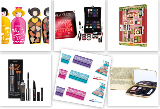 Regali di natale makeup trousse cofanetti palette per for Idee per regali