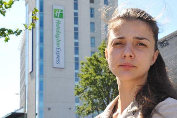 Una ragazza romena in italy