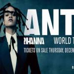 Rihanna e l' 'ANTI tour' in Italia