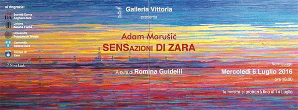 Mostre roma sensazioni di zara di adam maru i a galleria for Mostre roma 2016