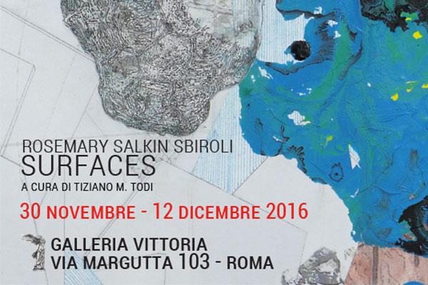 Mostre roma in mostra a galleria vittoria surfaces di for Mostre roma 2016