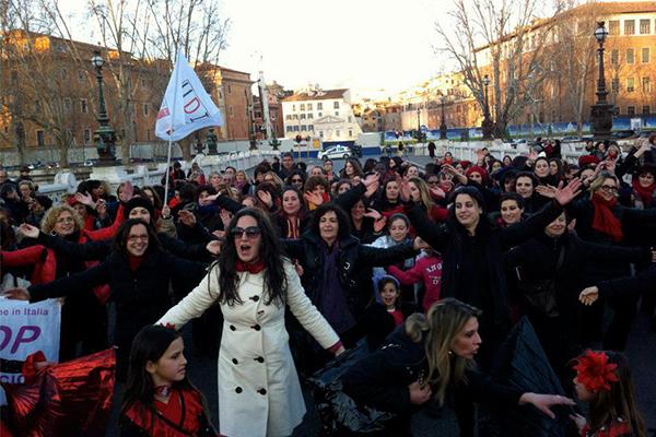 Casa Internazionale delle Donne di Roma sfratto