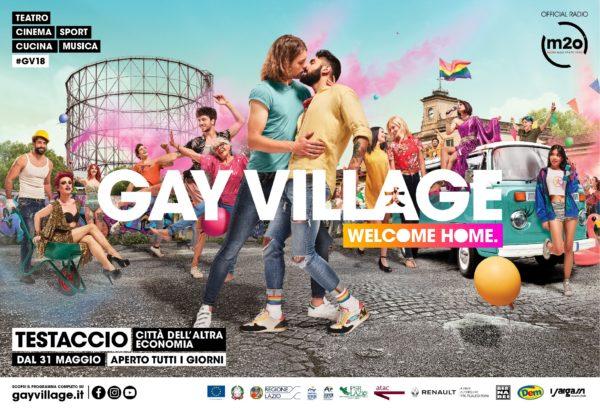 Gay Village torna a Testaccio: 31 Maggio via alla diciassettesima edizione